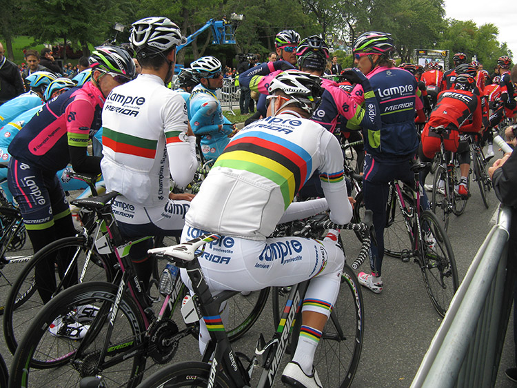 Rui Costa put in a strong performance ahead of high-level competition in Montreal, his final WorldTour race in the rainbow jersey.